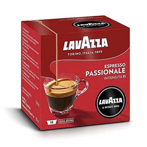 Lavazza a Modo Mio Capsule Caffè Passionale, 8 Confezioni da 16 Capsule (128 Capsule)