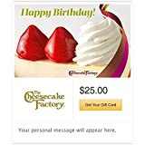 The Cheesecake Factory Birthday Strawberry Cheesecake Gift Cards - Email Delivery