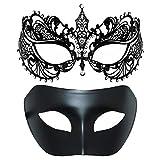 Thmyo Masque de Mascarade d'un Couple de Paires, Masque vénitien...