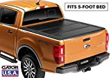 Gator Covers w/Cargo System Gator EFX Hard Folding Truck Tonneau Cover   GC44014   Fits 16-19 Toyota Tacoma 5' Bed
