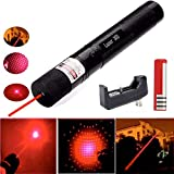 LUCHENG Red High Power Visible Light with Adjustable Focus for Hunting Hiking