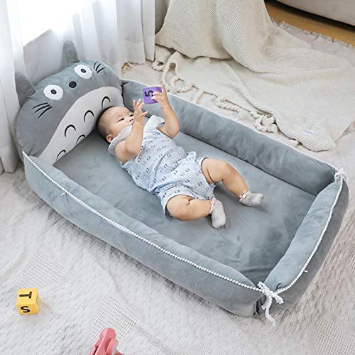 Product Image 5: VIVITG Cartoon Totoro Baby Bed Stuffed Sofa Infant Chair Plush Cute Anime Sofa Bed, for Kids Baby Play Mat Floor Mat, 906035cm