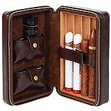 BJL-Cigar Boîte à cigares - Boîte à cigares portative Cigare...