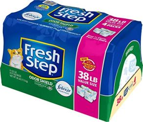 Fresh-Step-Odor-Shield-Scented-Litter-with-The-Power-of-Febreze-Clumping-Cat-Litter-38-lb