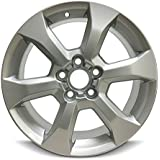 Road Ready Car Wheel For 2009-2014 Toyota Rav4 17 Inch 5 Lug Gray Aluminum Rim Fits R17 Tire - Exact OEM Replacement - Full-Size Spare