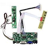 VSDISPLAY HD-MI VGA DVI Audio LCD Controller Board for 21.5' 23.8' 1920x1080 30Pin LCD Screen T215HVN01.0 M215HW03 V1 V2 M215HGE-L23 M215HTN01.1 LM238WF5-SSA1 LM238WF1-SLE3