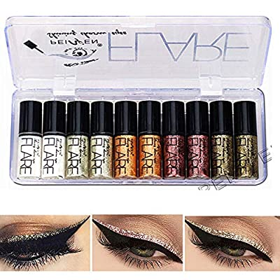 This eyeline glitter eyeshadow is a shiny liquid. Use this product to decorate your eye makeup. Your eyes can be shinier and more attractive. Use this eyeliner eye shadow to decorate your eyes so that your eye makeup is highlighted and your eyes look...