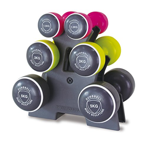 Body Sculpture Smart Dumbbell Tower (19KG) Torre de Mancuernas,...