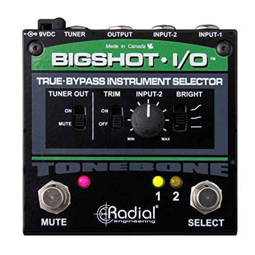 Tonebone BigShot I/O True Bypass Instrument Selector
