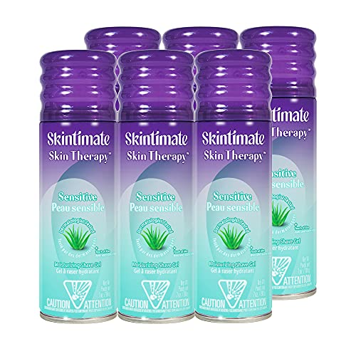 Skintimate Skin Therapy Moisturizing Shave Gel for...
