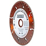 Delta Diamond Extreme Metal Diamond Blade 4.5-inch Heavy Duty All-Purpose Cutting/Grinding of Rebar Angle Iron Sheet Metal Stainless Steel (4-1/2')
