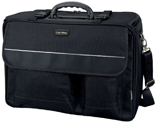 Lightpak Koffer Lightpak 46008 - The Flight Pilotenkoffer, aus Polyester, Schwarz 45 x 34 x 20 cm, 11,5 liters 10100194