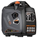 TACKLIFE Outdoor Generators, 58 dB Quiet 2250 Surge Watt Portable Inverter Generator, Single-Cylinder, Four-Stroke, Forced air-Cooled, Overhead Valve, EPA&CARB Compliant