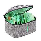 XJZHANG Esterilizador UV portátil Multifuncional Bolsa de cosméticos, Bolsa de desinfección UV Caja limpiadora de desinfección de luz UV Cuadrada de Gran Capacidad con Carga USB