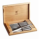 Zwilling  J.A. Henckels Steak Knife Set of 8, German Knife Set, Stainless Steel
