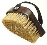 Professional Walnut Body Brush with Natural Bristles (Medium Strength Bristles)