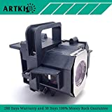 ELPLP49 Replacement Lamp for Epson PowerLite 9700UB 6500UB 8100 8345 8350 7100 9100 (by Artki)
