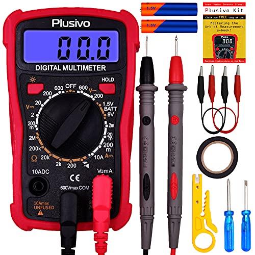 Digital Multimeter for Measuring Voltage,...