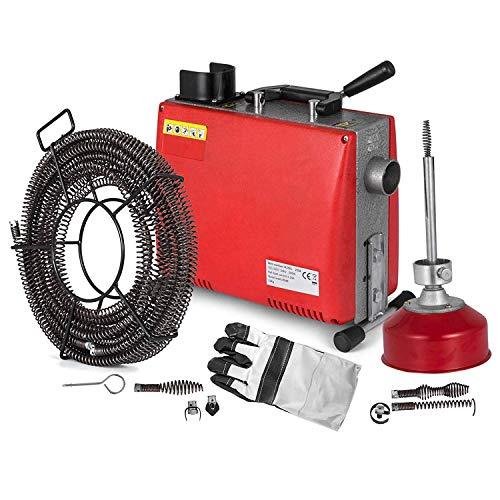 Morffa Abflussreinigungsmaschine Elektrische Unblocker 220 v 250 Watt / 700 Watt Unblocker Hochdruckreinigungsmaschine Rohre Pipeline Baggermaschine (GQ100AA)