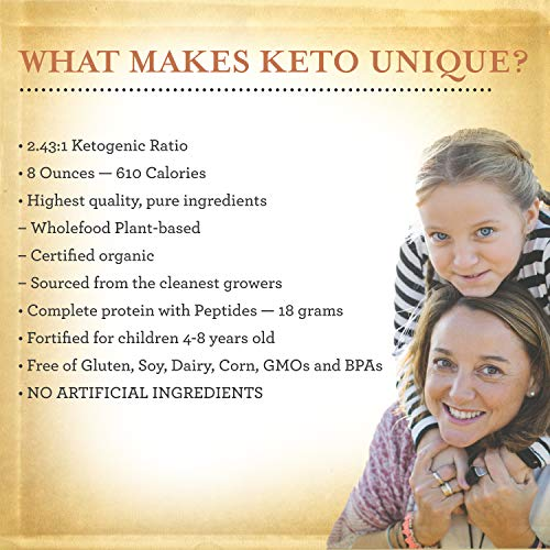 Functional Formularies Ketogenic Meal Replacement Supplement, Add to Your Recipes for Perfectly Balanced Keto Organic Nutrition, 24 Pack 3