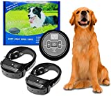 Wireless Electric Dog Fence System, dog fence outdoor Anti Barking Dog Collar Pet Containment...