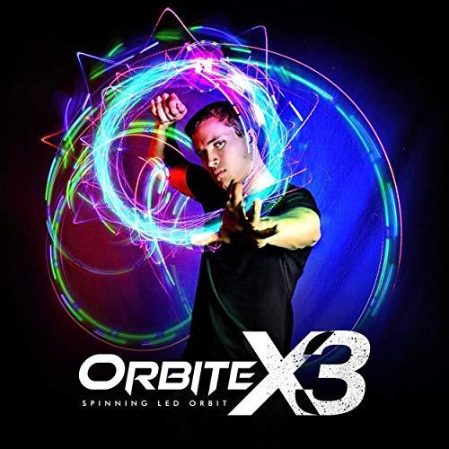 EmazingLights 4-LED Spinning Orbit: Orbite-X3 Lightshow Orbital...