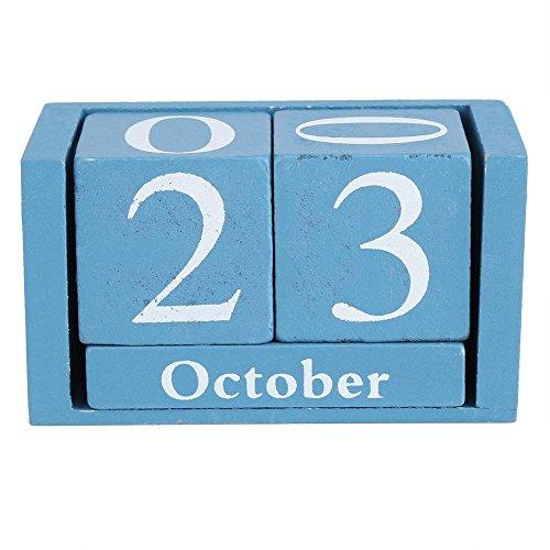 Zerodis Calendario de Adviento Hechos a Mano Calendario Perp