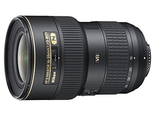 Nikon AF-S NIKKOR 16-35mm f/4G ED VR Negro - Objetivo (0,28 m, 16-35 mm, 0.25x, 107°, 63°,...