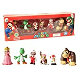 EASTVAPS 6 Pcs / Set Super Mario Bros PVC Action Figurine Jouets Mario Luigi...