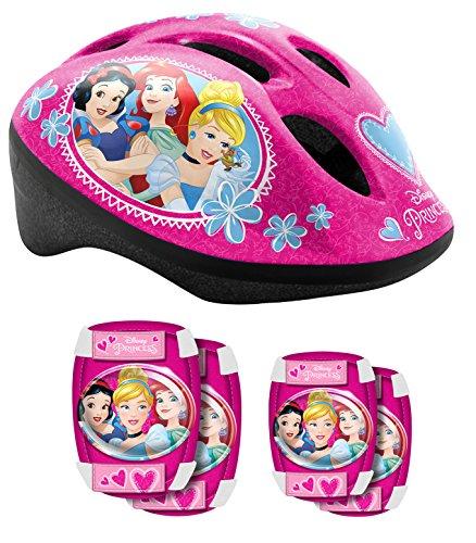 Stamp k887507Set di Protezione per Bicicletta Ragazza, Rosa