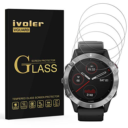 VGUARD 4 Unidades Protector de Pantalla para Samsung Galaxy Watch...