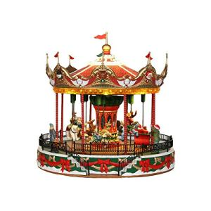 Lemax Christmas Village Carousel