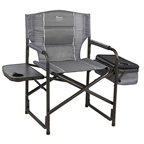 4. Timber Ridge Laurel Director's Chair with Cooler Bag & Side Table