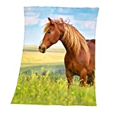 Herding Young Collection Couverture Polaire, Cheval, 130 x 160...