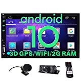 EINCAR Android Car Stereo Touch Screen Car Radio with Bluetooth 2 Din in Dash Double Din GPS Navigation FM/AM RDS Radio Auto HD Video Player Head Unit AUX WiFi Mirrorlink Remote Control+Backup Camera