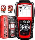 Autel Autolink AL619 OBD2 Scanner ABS SRS Airbag Warning Light Scan Tool, Turn Off Check Engine...