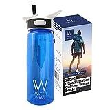 Purifie l'eau en éliminant 99,9% des bactéries et parasites d'origine...