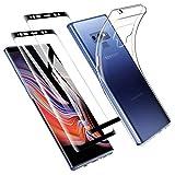 Zsmzzd Coque Samsung Galaxy Note 9, avec Verre Trempé Protection d'écran,...