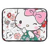 Funda para portátil de 13 a 15 pulgadas, diseño de Hello Kitty