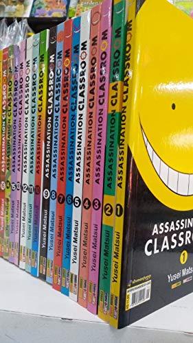 Mangá assassination classroom volume 1 ao 21 completo