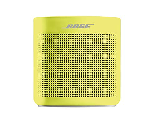 Bose SoundLink Color II - Enceintes Portables Bluetooth (Résistante aux Projections d'eau), Citron