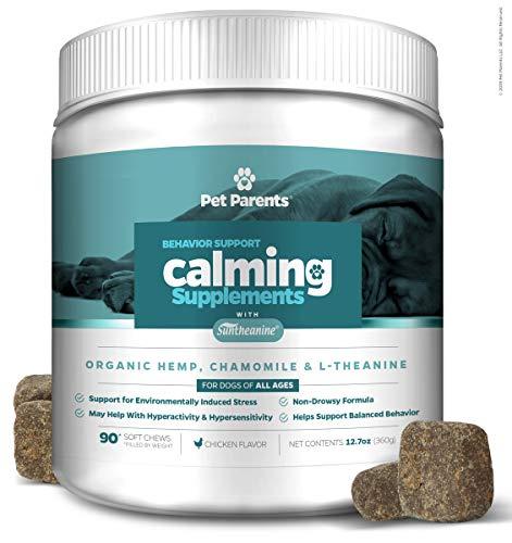 Pet Parents USA Dog Calming Treats 4g 90c +...