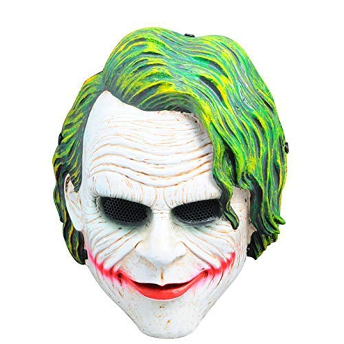 Buy Liwazo Legendary Heath Ledger The Joker Face Mask Cosplay, Role Play &  Dress up for Party Online at Low Prices in India - Amazon.in