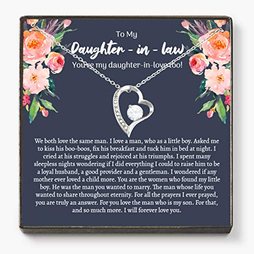 Daughter-In-Law Necklace, Gift For Daughter In Law,...