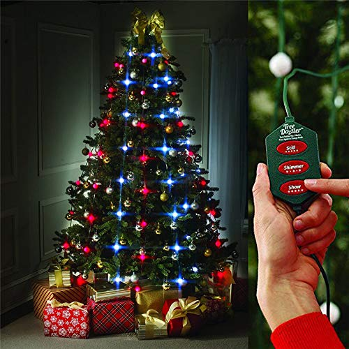 XXGJK 64LED Christmas Tree Dazzler Light Led Flashing Garland Home...