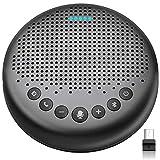 Bluetooth Speakerphone – Luna Updated AI Noise Reduction Algorithm Featured, Daisy Chain, USB...