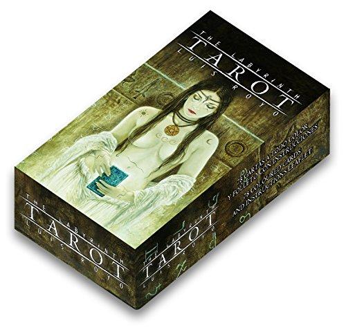 Fournier- Tarot The Labyrinth por Luis Royo Baraja De Cartas, Color marrón (F32852)