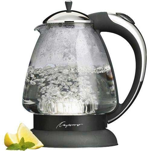 Capresso Not Available Water Kettle, 10' x 8.25' x 6.25', Polished Chrome