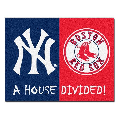 FANMATS MLB House Divided Nylon Face House Divided Rug