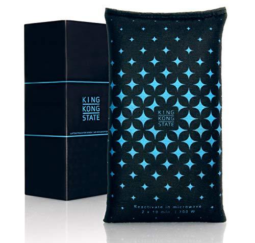 King Kong State ® Luftentfeuchter für Autos - Entfeuchter-Kissen für Beschlagene Autoscheiben - mit wiederverwendbarer Antibeschlag-Füllung und Anti-Rutsch Pad